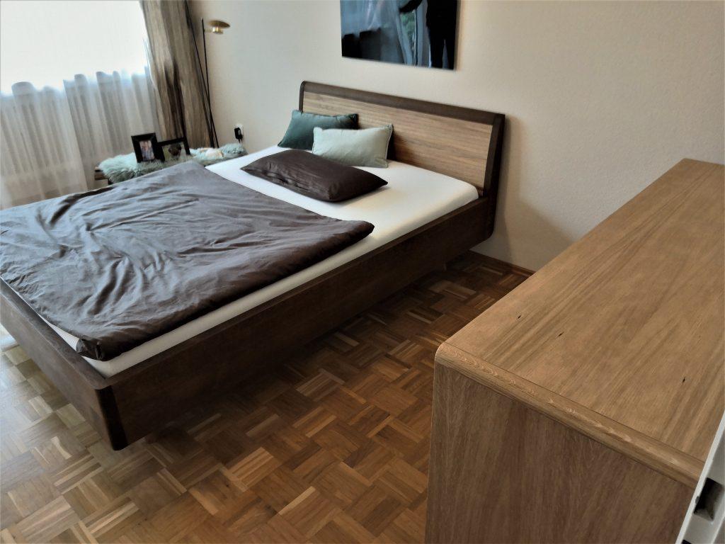 Schlafzimmer in Räuchereiche/Eiche